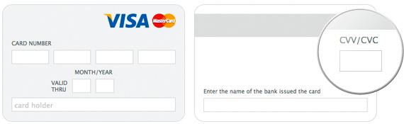 Авиакасса, Оплата кредитной картой
